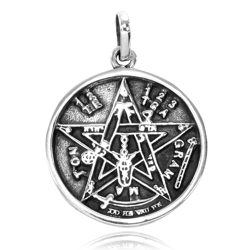 Pingente de Pentagrama ou Estrela de Salomão - 2632