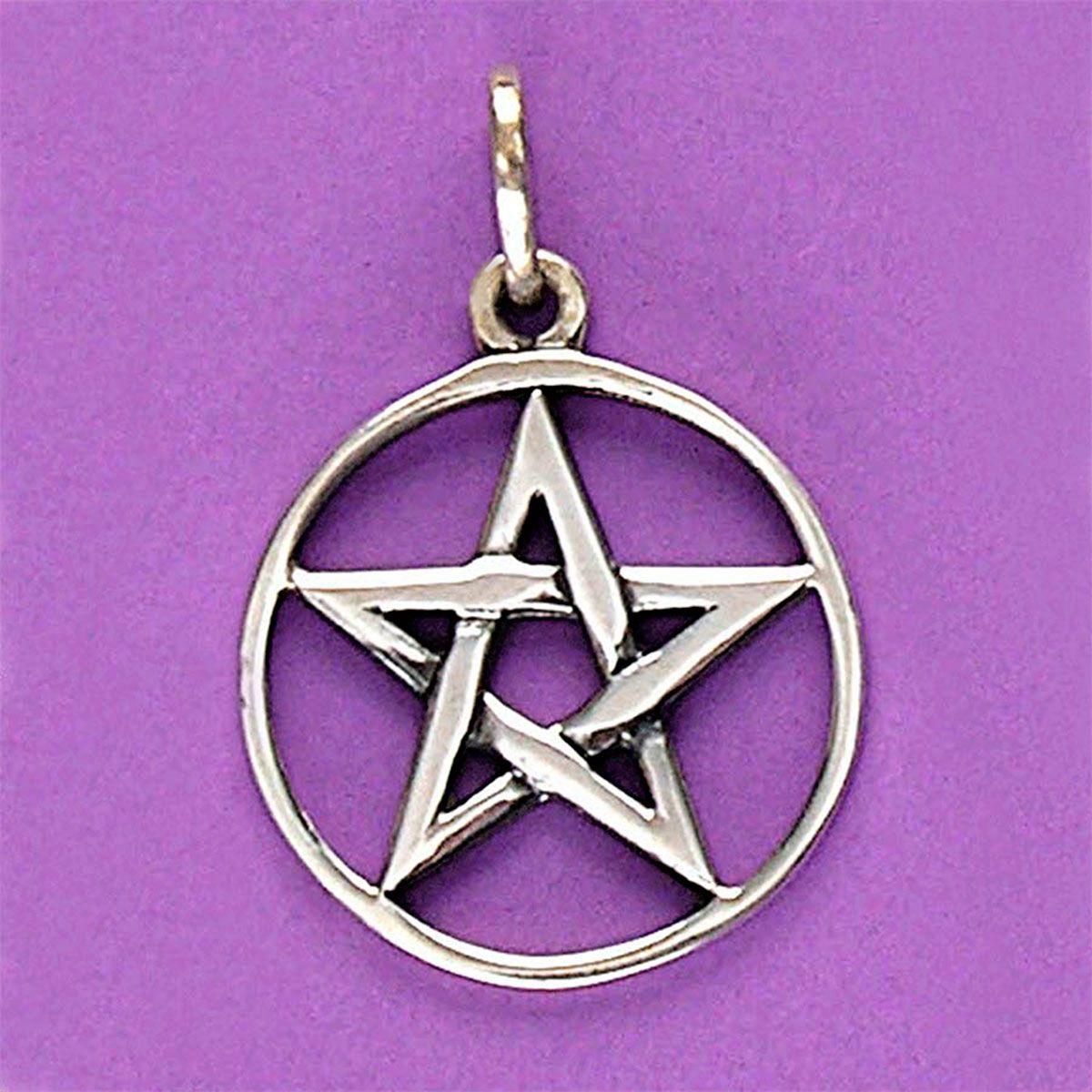 Pingente de Pentagrama ou Estrela de Salomão - 33130  - Magia das Joias
