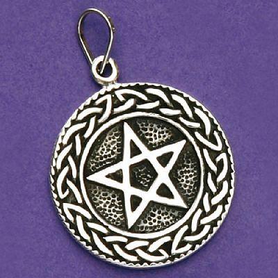 Pingente de Pentagrama ou Estrela de Salomão - 33172  - Magia das Joias