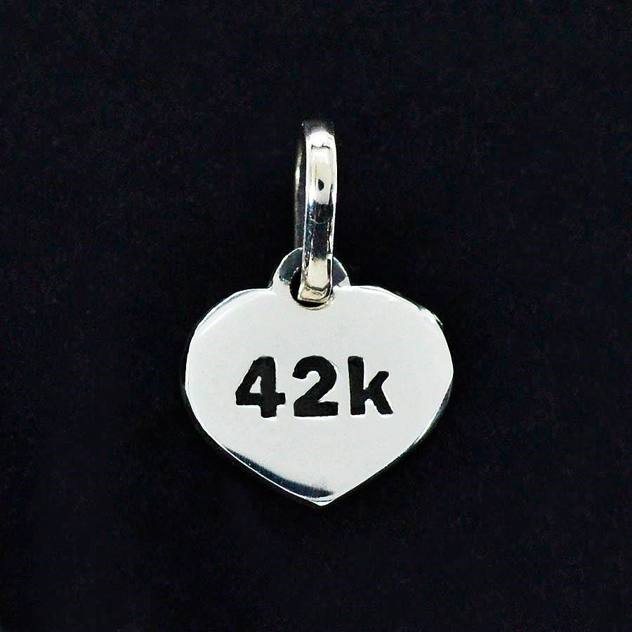 Pingente de Placa de Distância 42K - 96166