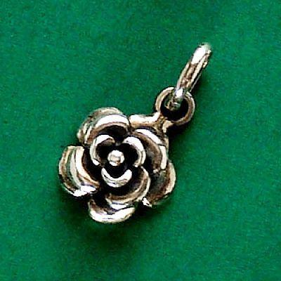 Pingente de Rosa Flor - 33146  - Arte Ativa