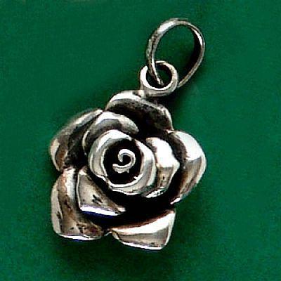 Pingente de Rosa Flor - 33205  - Arte Ativa