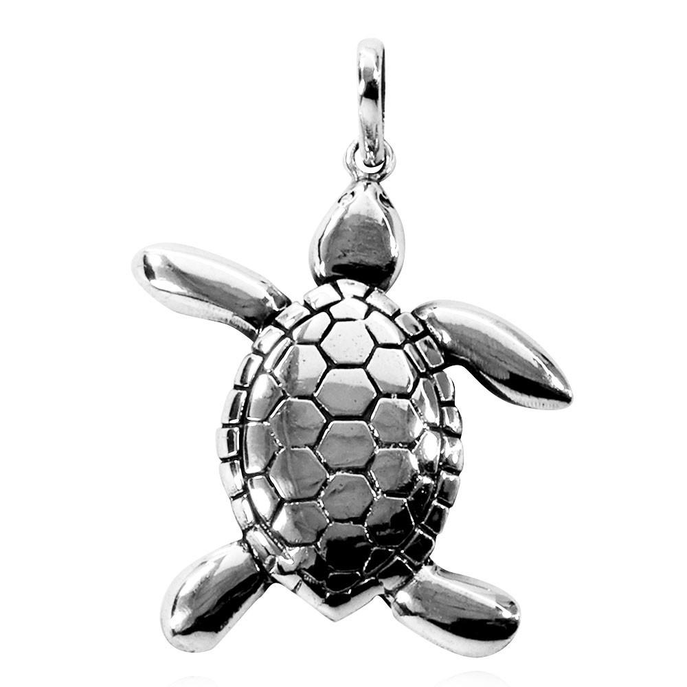 Pingente de Tartaruga Mar Gd. - 95720  - Arte Ativa