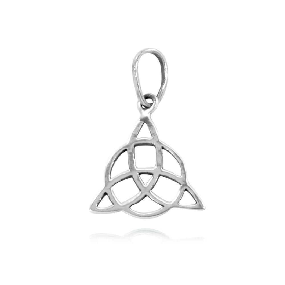 Pingente de Triquetra - 95742  - Magia das Joias