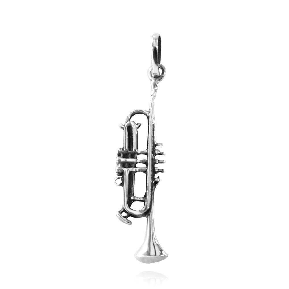 Pingente de Trompete - 2673  - Magia das Joias
