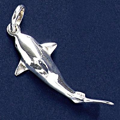 Pingente de Tubarão - 9540  - Magia das Joias