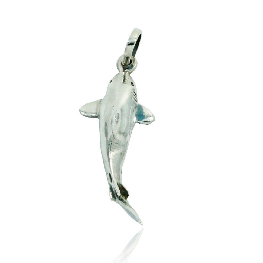 Pingente de Tubarão - 9540  - Arte Ativa