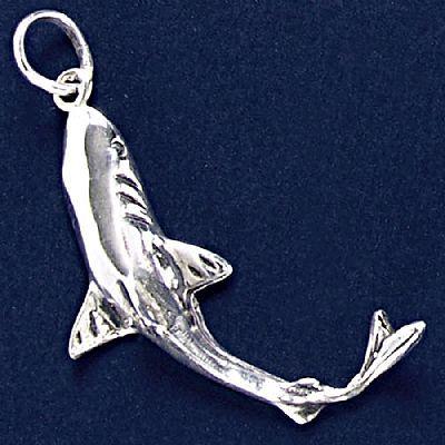 Pingente de Tubarão Grande - 95165  - Arte Ativa