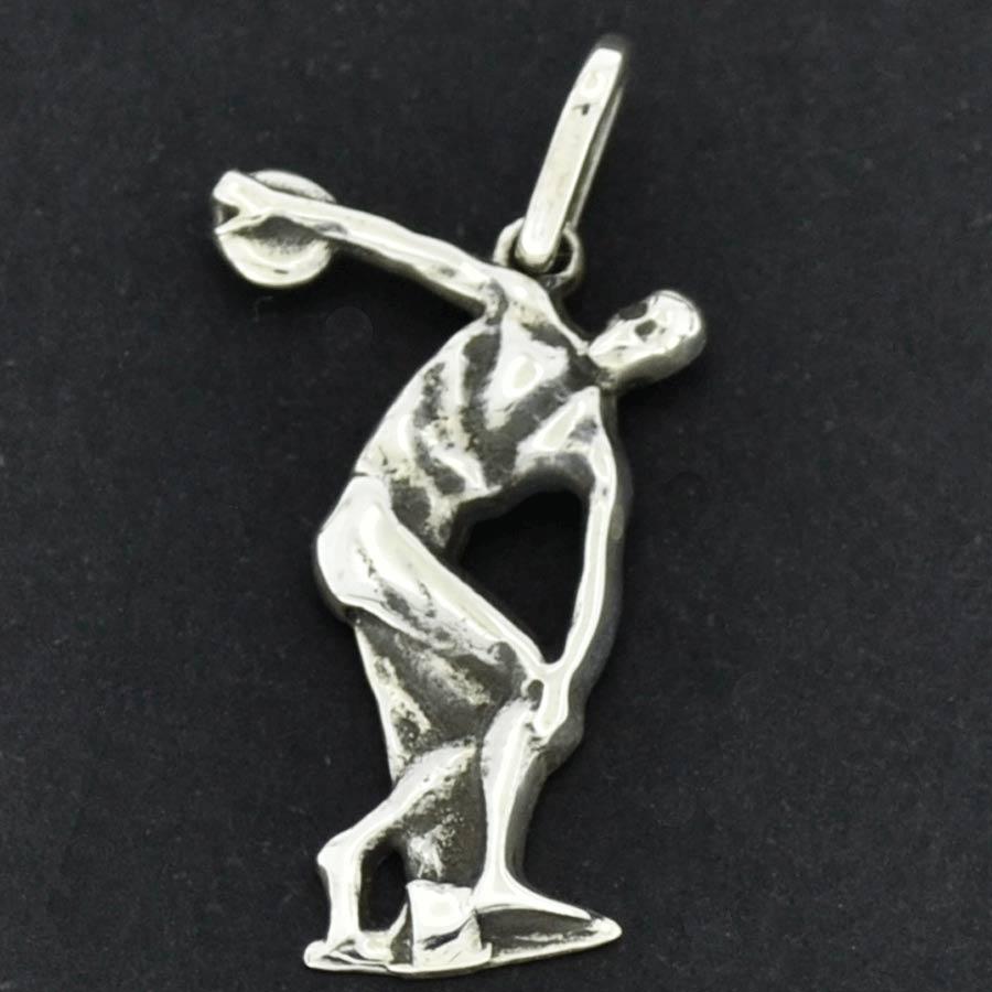 Pingente do Símbolo da Educação Fisica - Discóbolo de Myrón - 9709