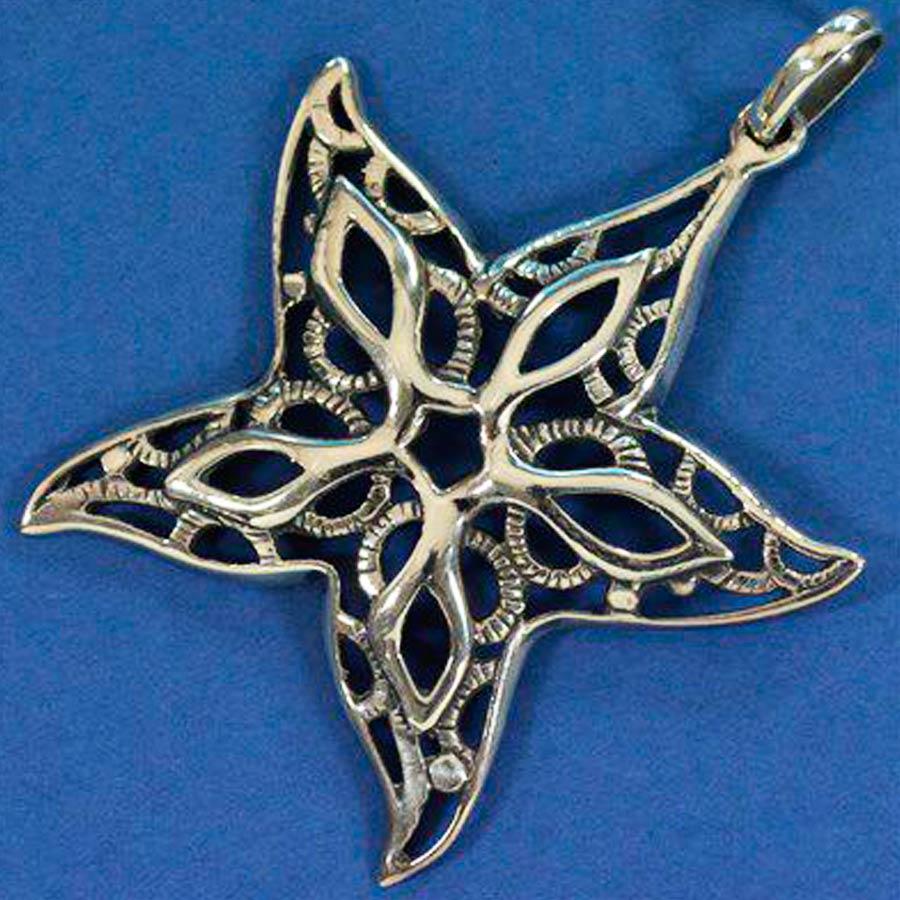 Pingente Estrela do Mar Grande - 95730  - Magia das Joias