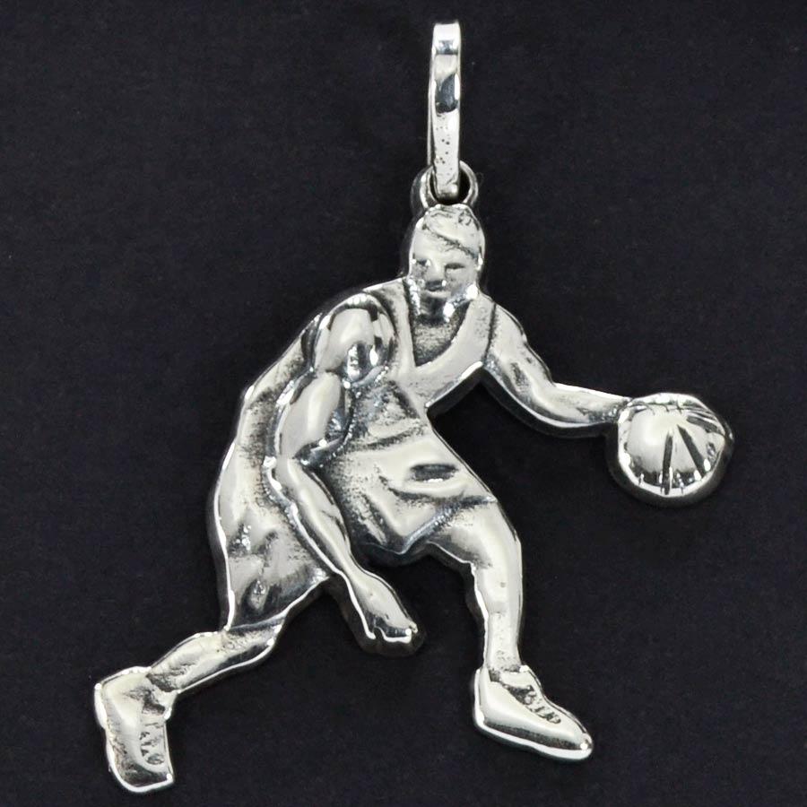 Pingente Jogador de Basquete Basketball - 95912  - Magia das Joias