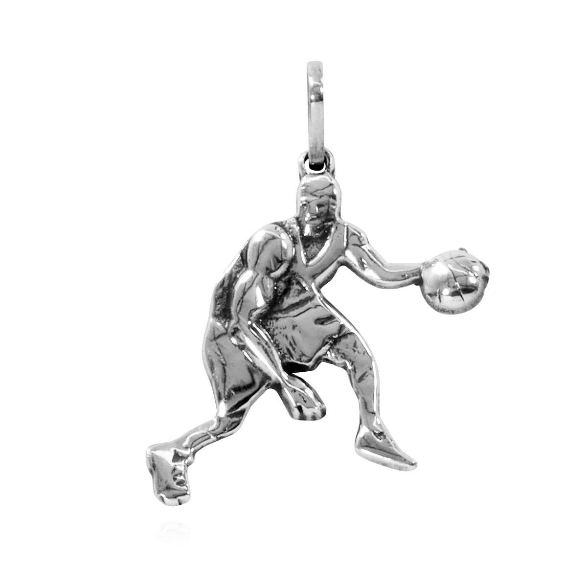 Pingente Jogador de Basquete Basquetista Basketball - 95912  - Arte Ativa