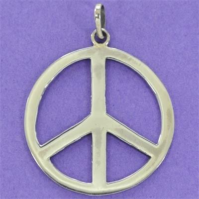 Pingente Paz e Amor - 95331  - Magia das Joias