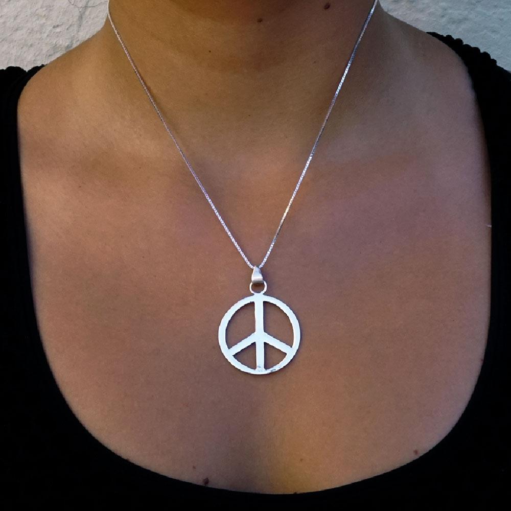 Pingente Paz e Amor - 95331  - Arte Ativa