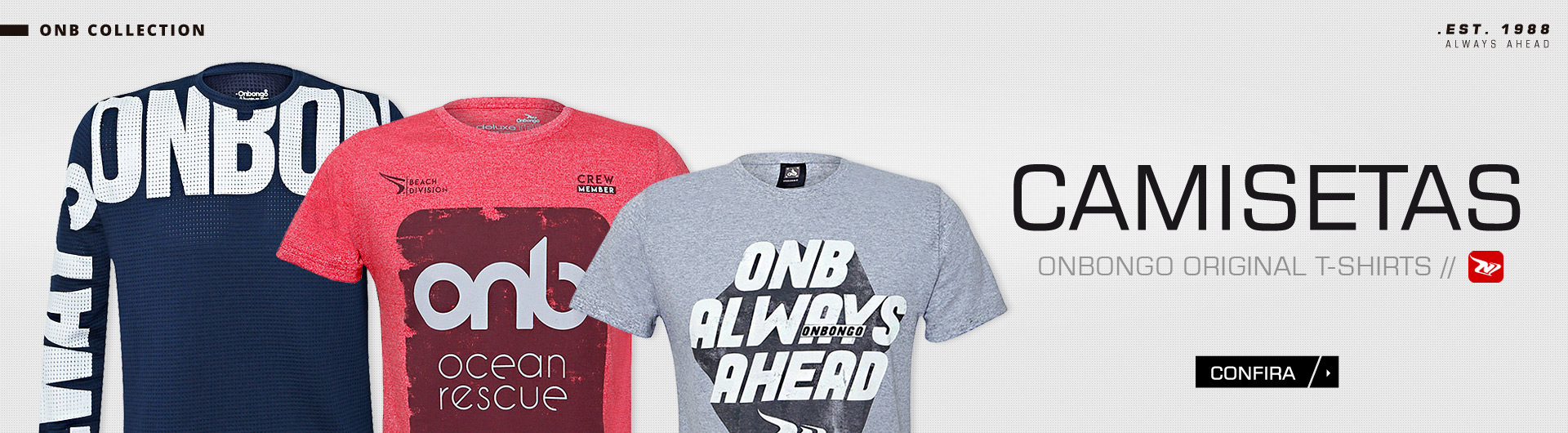 Camisetas - Onbongo Loja Oficial