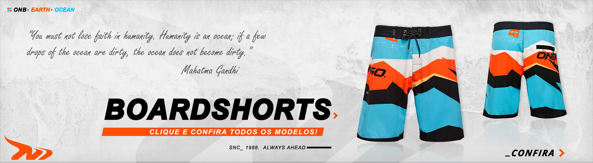 Boardshorts Onbongo - Always Ahead
