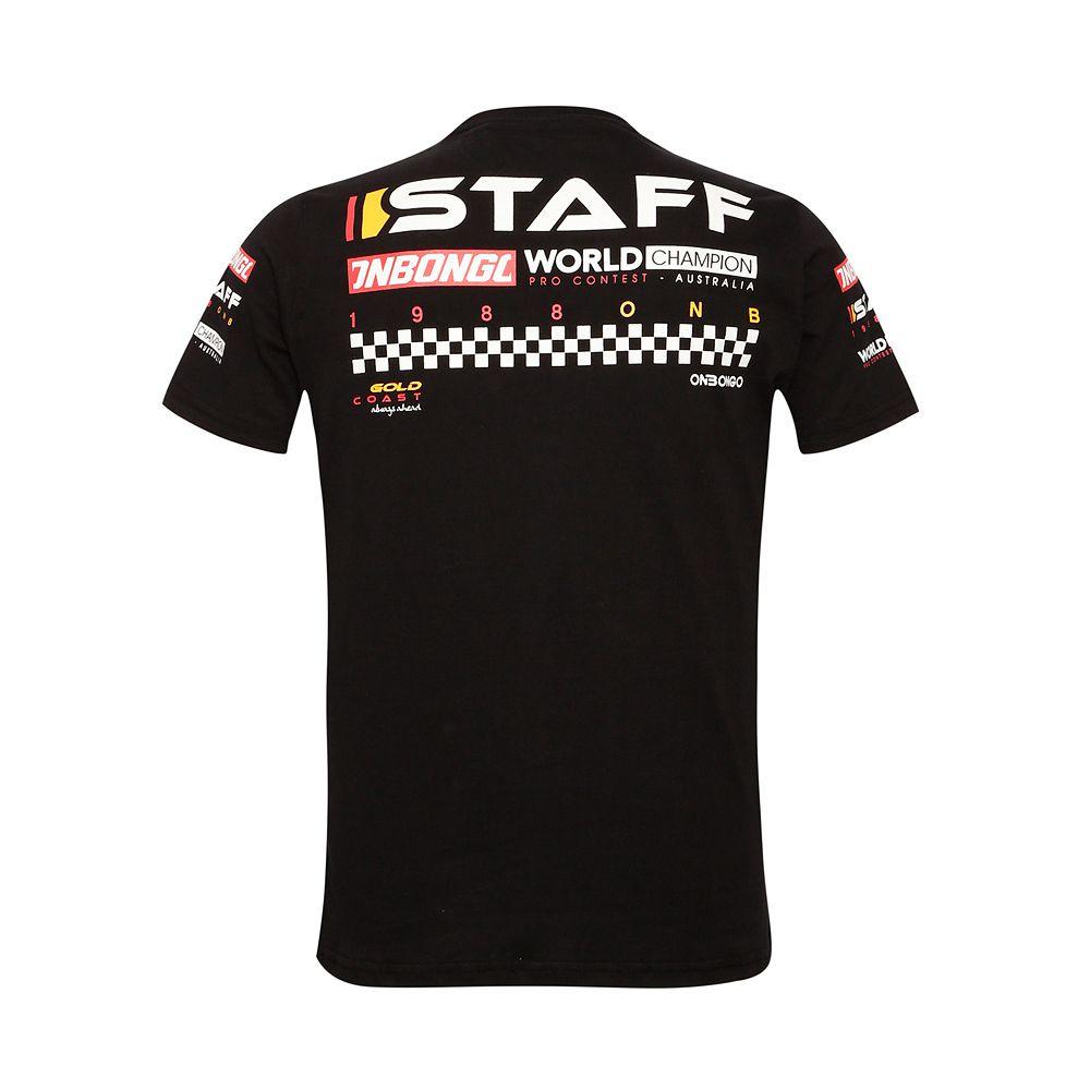 Camiseta Deluxe Onbongo Gold Staff