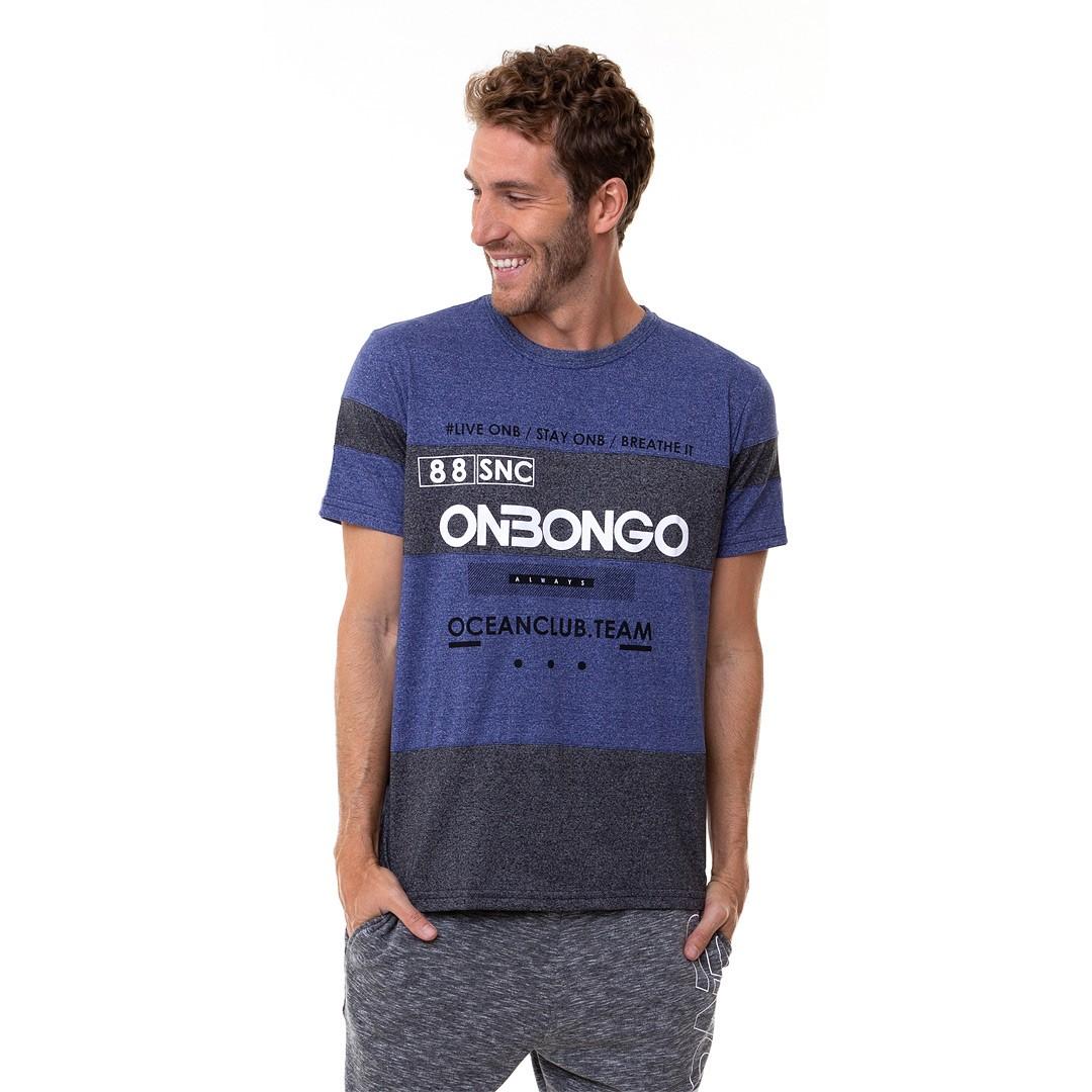 Camiseta Deluxe Onbongo Hanoi Masculina