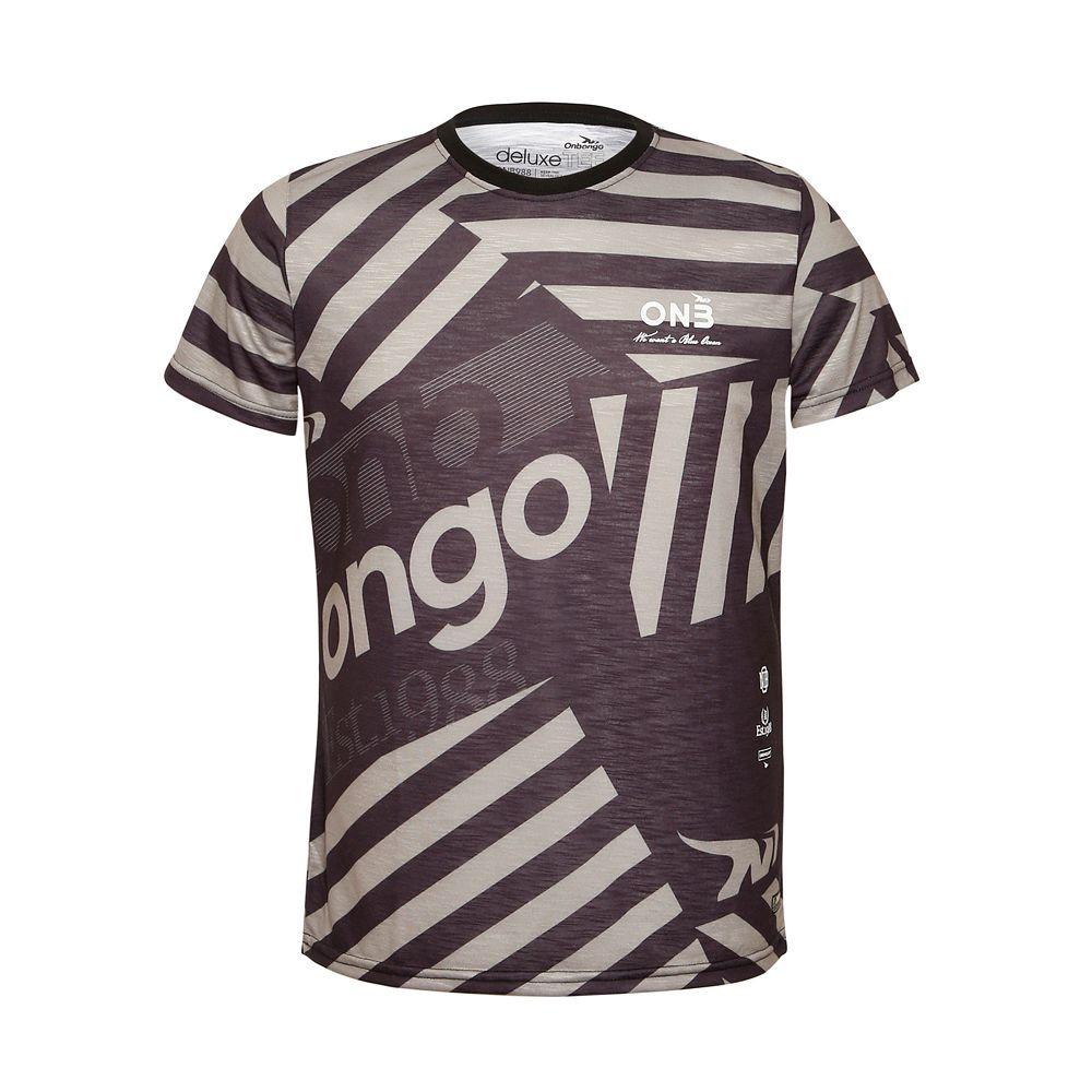 Camiseta Deluxe Onbongo Mozaic