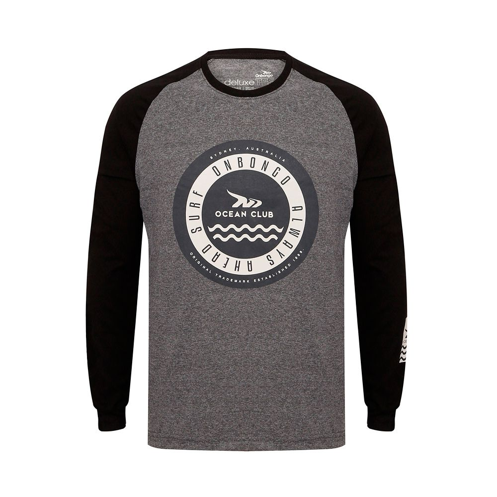Camiseta ML Onbongo Aus Waves