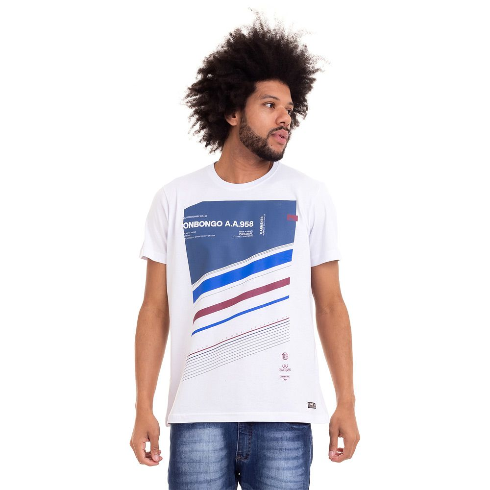 Camiseta Official Onbongo Garments Masculina