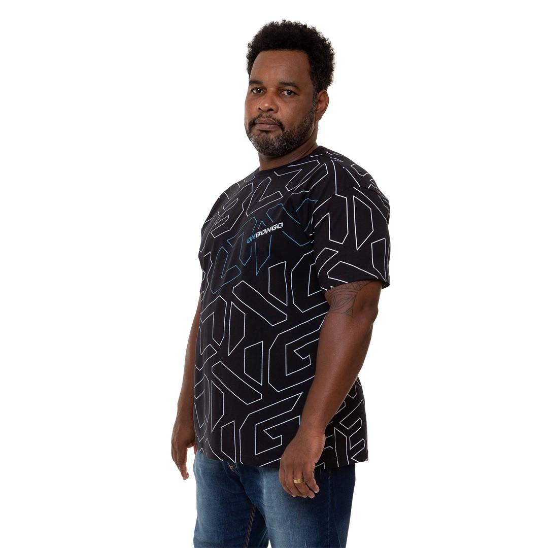 Camiseta Onbongo Big Size Tech Masculina