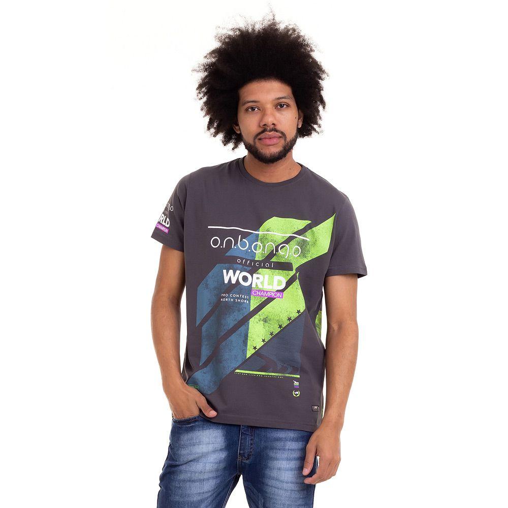 Camiseta Onbongo North Champ Masculina