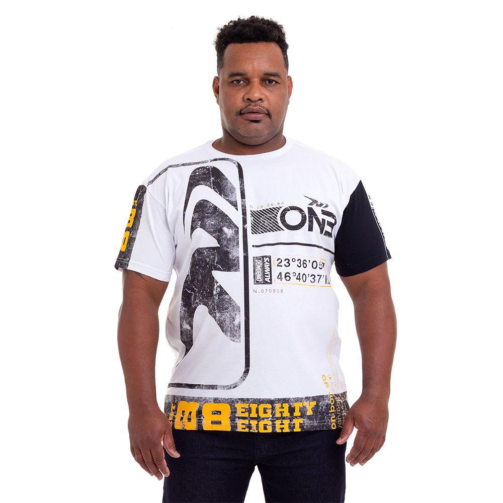 Camiseta Big Size Onbongo Coded