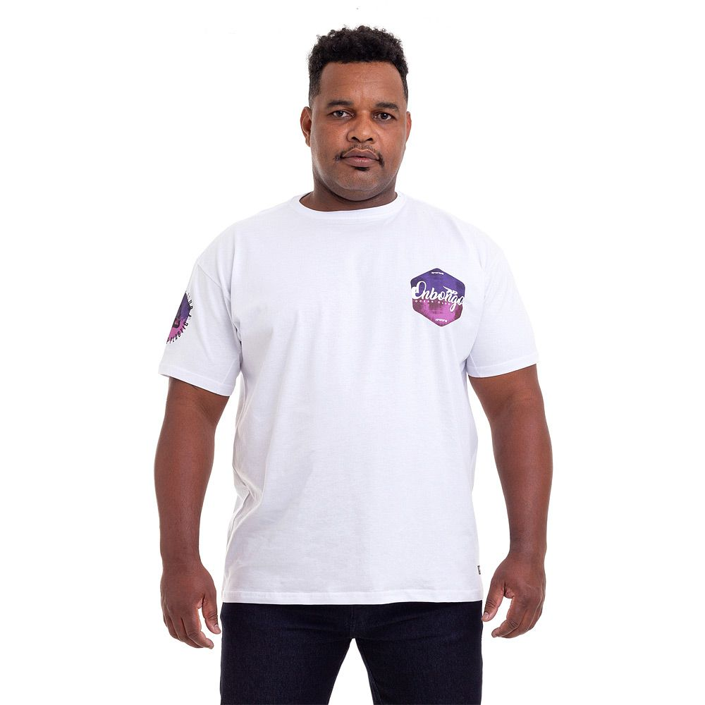 Camiseta Big Size Onbongo Plastic