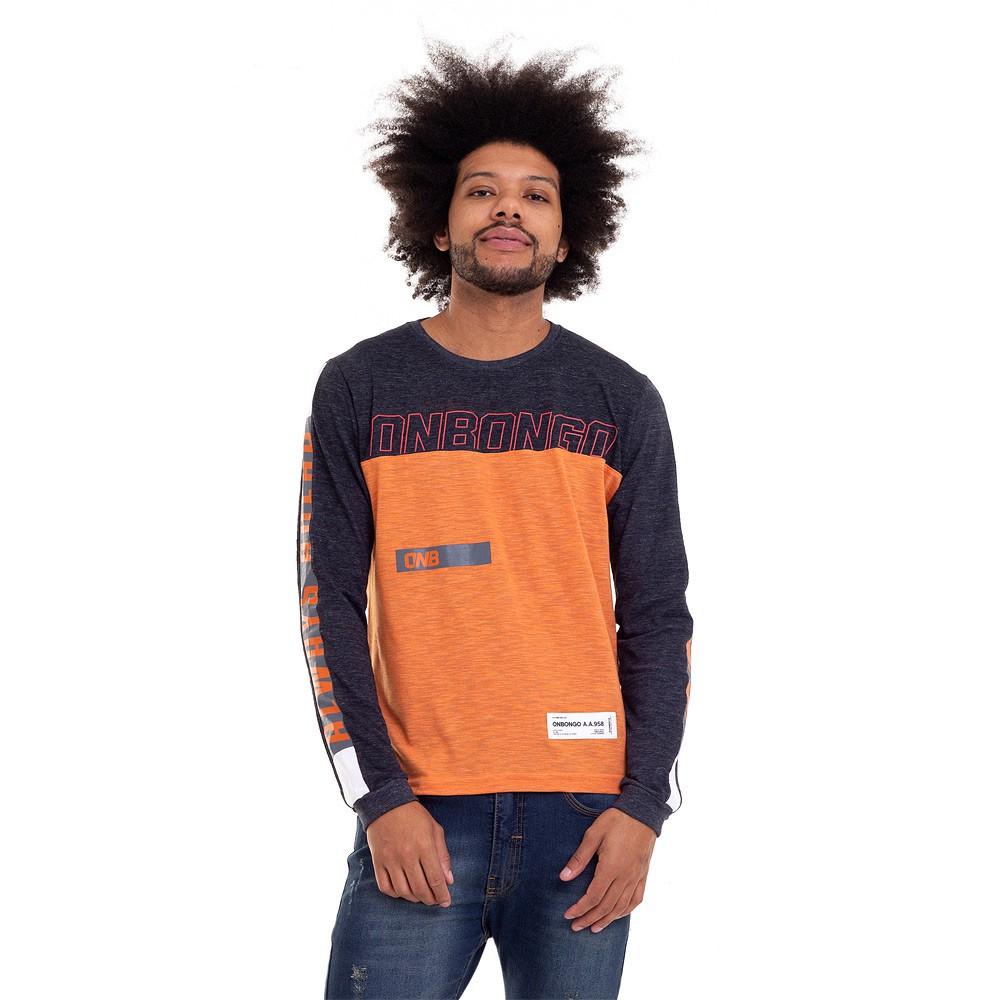 Camisetas ML Onbongo Claw Masculina