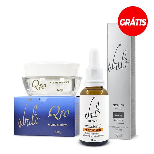 Mini kit para pele madura + Serum GRÁTIS