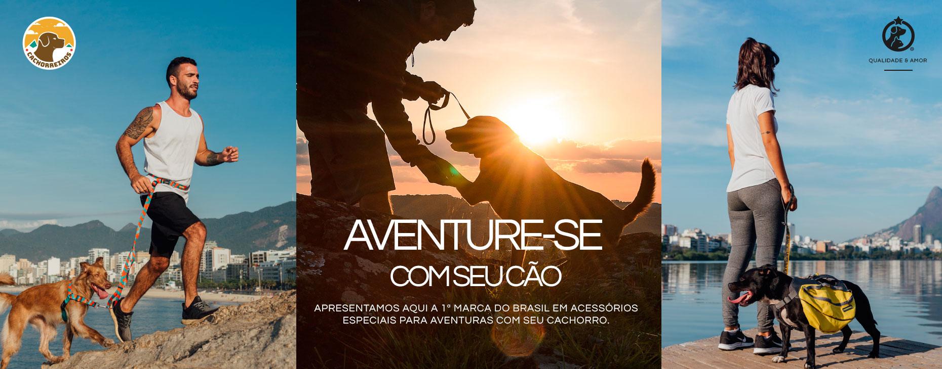 Estreia CACHORREIROS: acessórios para aventura com o dog! Confira!