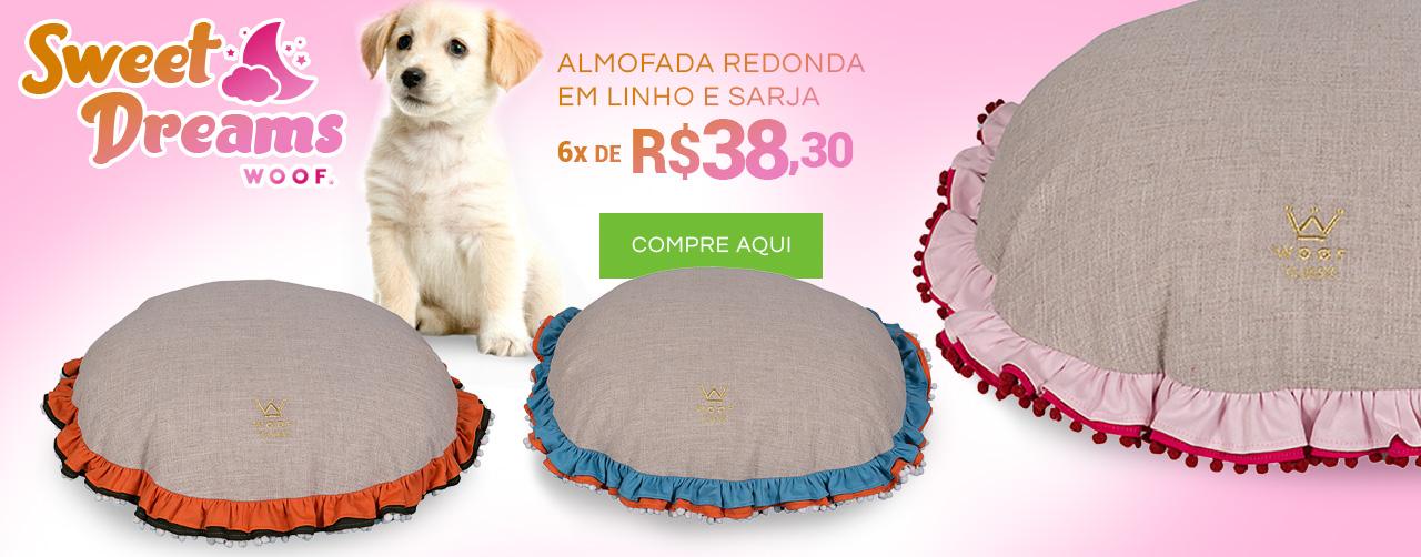 Almofadas Redondas Sweet Dreams: Apaixone-se aqui!