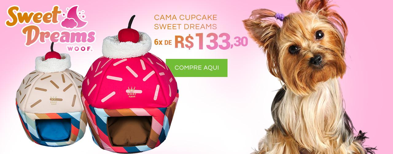 Especiais como sempre, lindas como nunca! Camas Cupcake Woof Classic