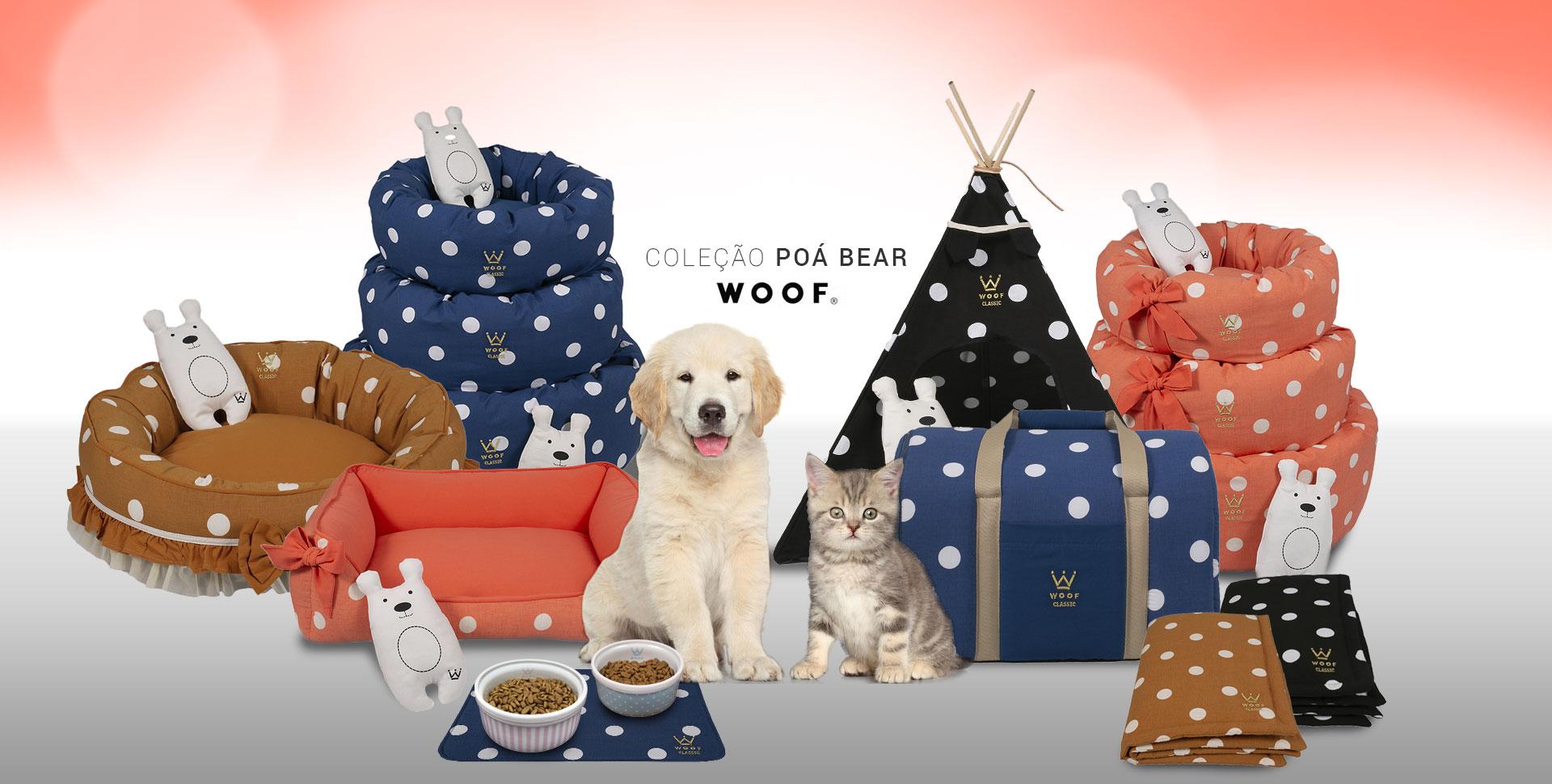 Woof Classic Linho Poá Bear: a Nova Coleção Woof! Confira