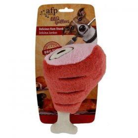 Brinquedo em Pelúcia Pernil de Presunto BBQ Ham Shank AFP