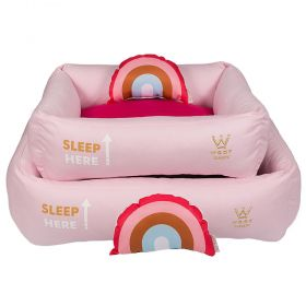 Cama Woof Classic Sweet Dreams Side Sleep Rosa