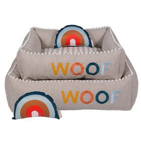 Cama Woof Classic Sweet Dreams Side Sweet Azul
