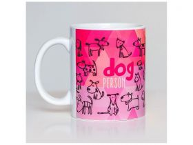 Caneca de Cachorro Dog Person
