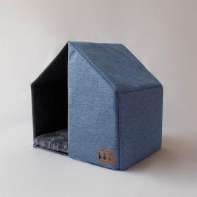 Casinha para Cachorro The House Blue Beds for Pets