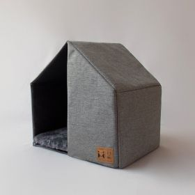Casinha para Cachorro The House Grey Beds for Pets