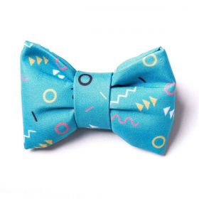 Gravata para cachorro Bo.be Sorbet Azul
