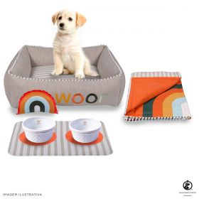 Kit Cama Side Sweet Laranja Sweet Dreams Woof Classic