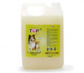 Shampoo para pet com Pelos Dourados Profissional 5L Top Vet