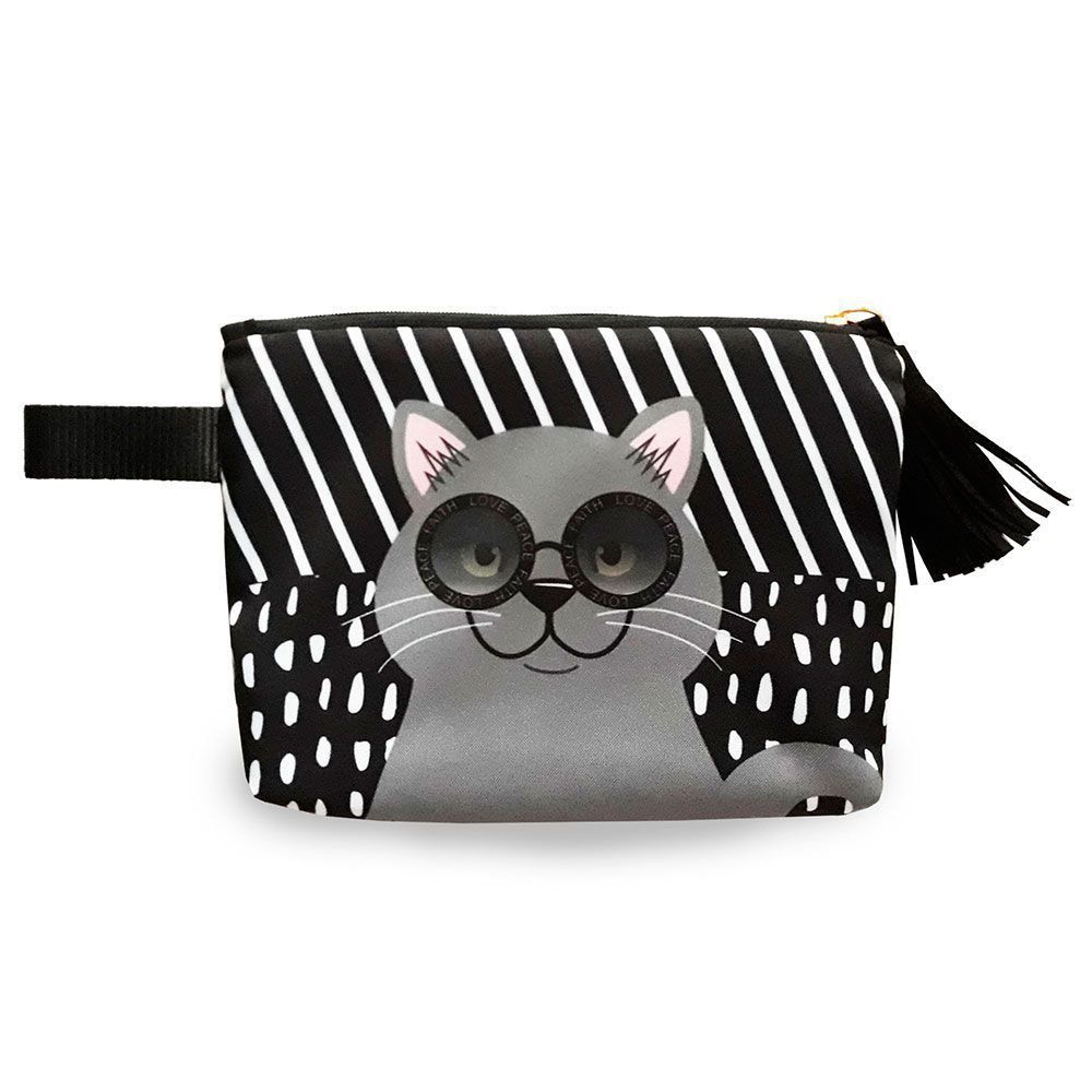 Bolsa Clutch Gato British Shorthair