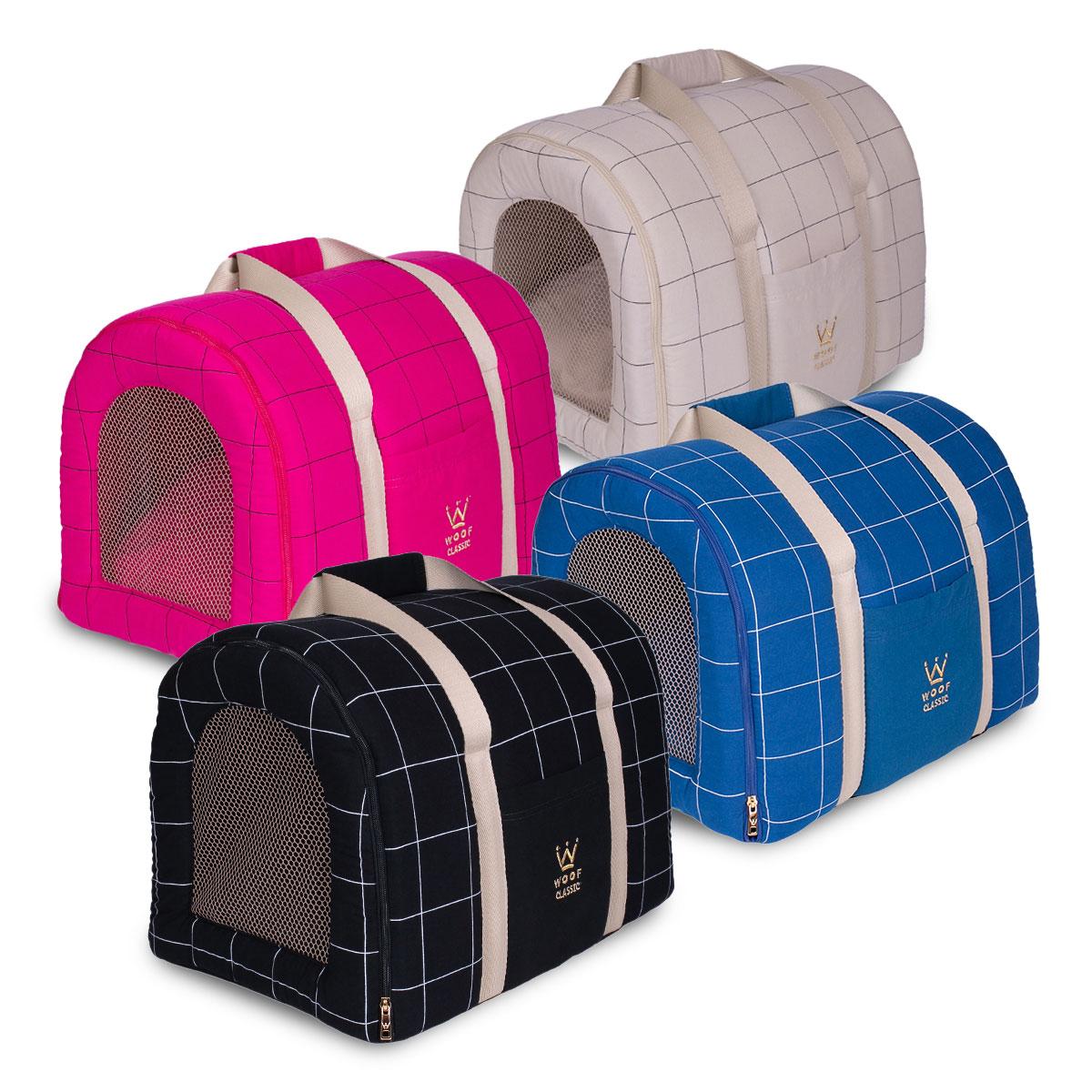 Bolsa de Transporte Tela Lazzy Grid Woof Classic
