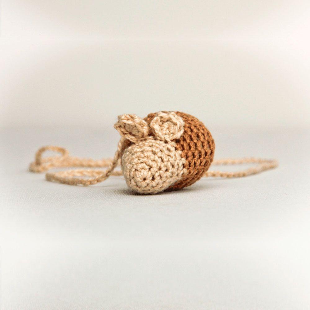 Brinquedo para Gato Crochê + Catnip Ratnip Hello Pet