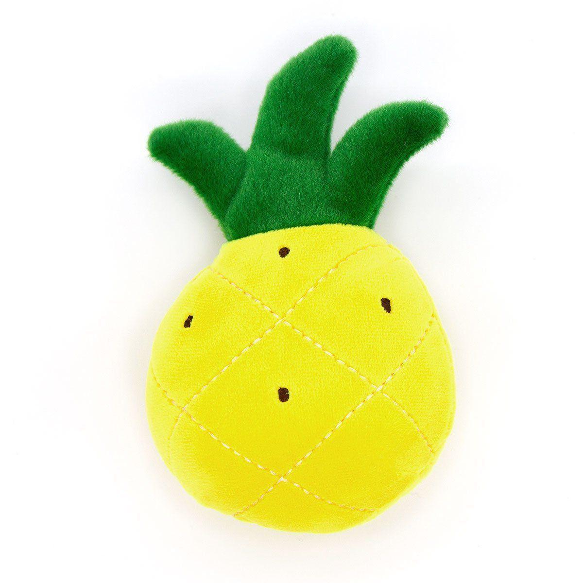 Brinquedo para Pet em Pelúcia - Abacaxi