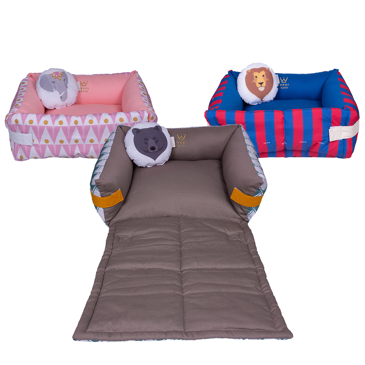 Cama Couch Circus Woof Classic