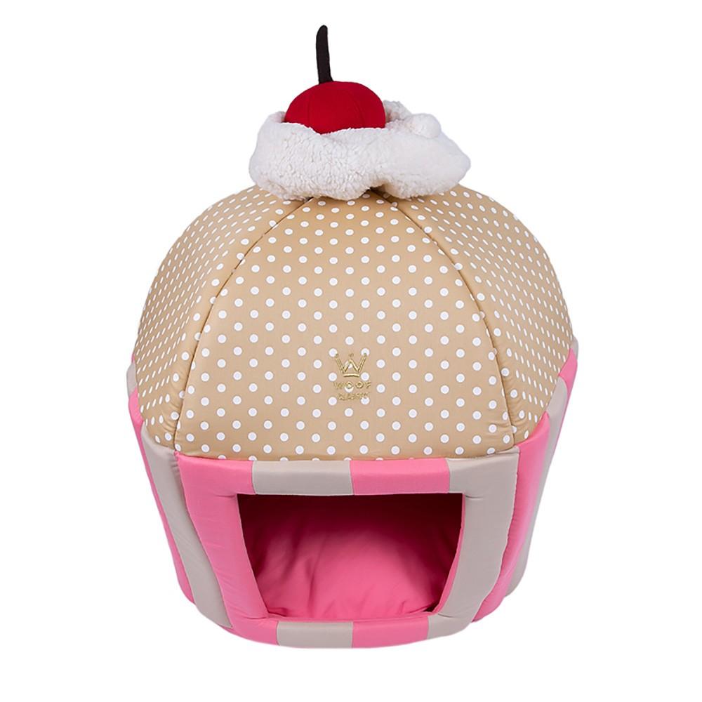 Cama Cupcake Woof Classic Rosa